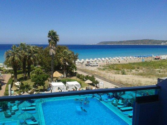Area Blue Beach Hotel: Vista desde mi balcón