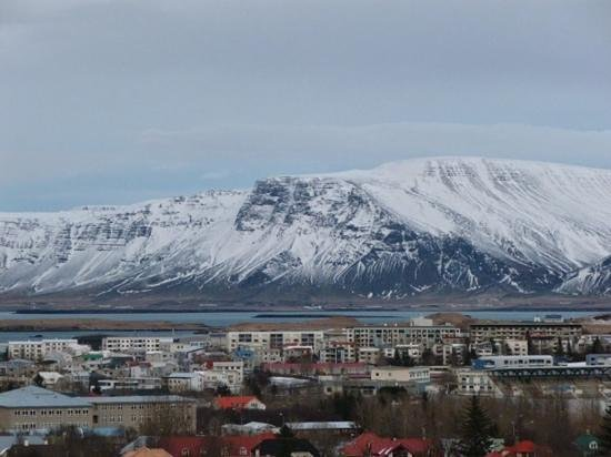 Hilton Reykjavik Nordica : View from top floor, amazing views!