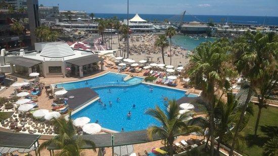 HOVIMA La Pinta Beachfront Family Hotel : view from room
