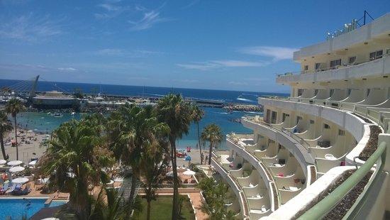 HOVIMA La Pinta Beachfront Family Hotel : view from room 2