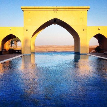 Tilal Liwa Hotel: Pool view