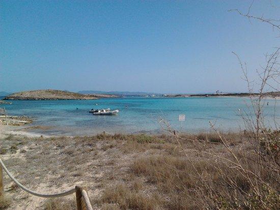 Playa de Ses Illetes: racchiusa tra isolotti vicini
