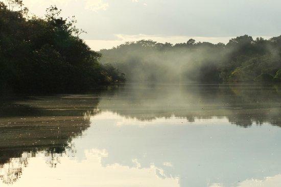 Amazon Tupana Lodge: all'alba sul fiume