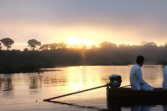 Amazon Tupana Lodge: escursioneall'alba