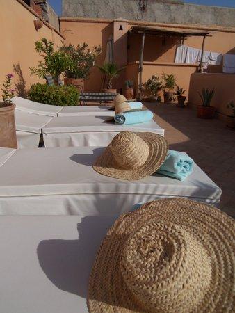 Riad Limouna: terrace