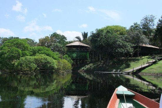 Amazon Tupana Lodge: arrivando al lodge