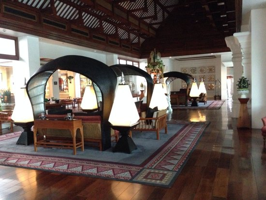 Ratilanna Riverside Spa Resort Chiang Mai: Interno hall