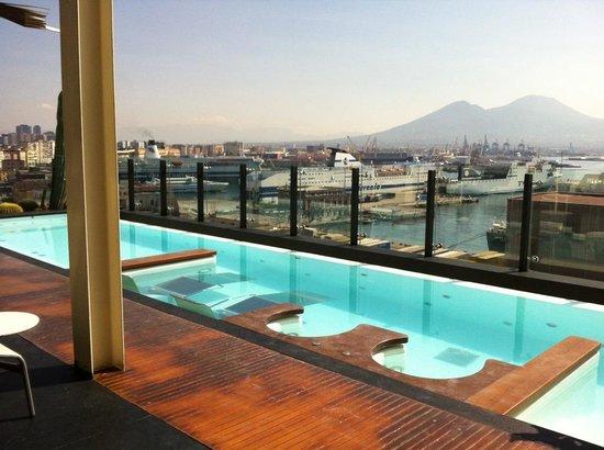 piscine hotel romeo naples foto di romeo hotel napoli