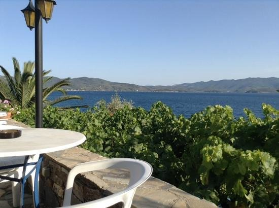 Pounda Paou: view from the terrace