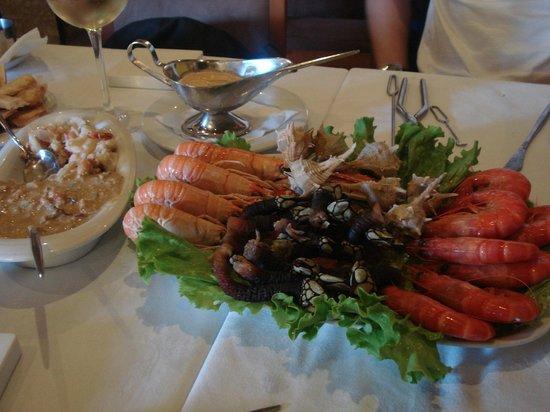 Toupeirinho: Our lunch
