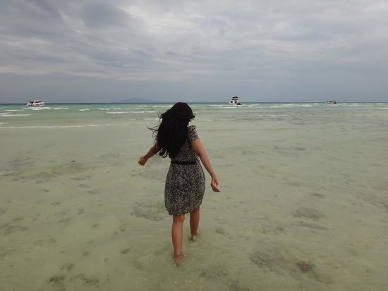 Phi Phi Island Village Beach Resort : The hotel beach
