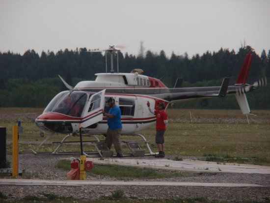 Canada Rocky Tours - Day Tours : The Helicopter