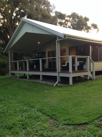Acacia Chalets Margaret River: Porch