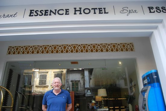 Essence Restaurant: At the hotel entrance!