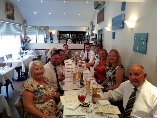 Bistro21: a wonderful wedding meal at Bistro 21