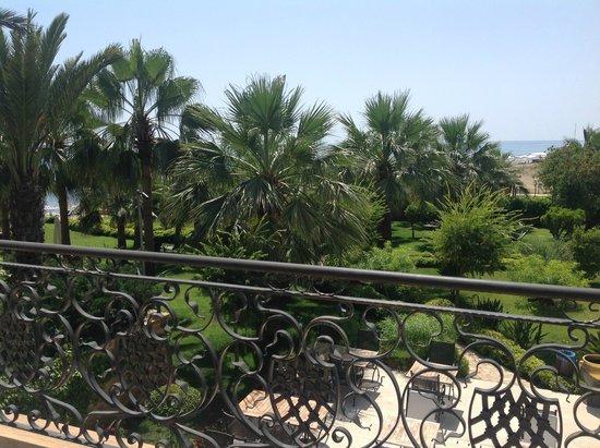 Villa Augusto: view of the sea from Kingston balcony