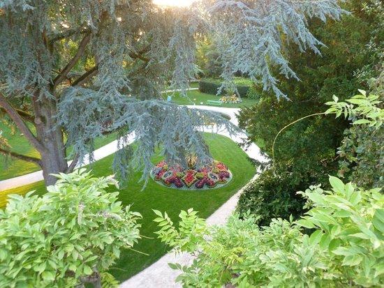 Jardin des plantes de Coutances: vue jardin Coutances