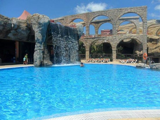 Holiday Village : One of the beach clubs pools