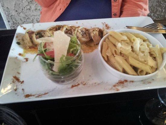 La Girandole: plat calamar farci