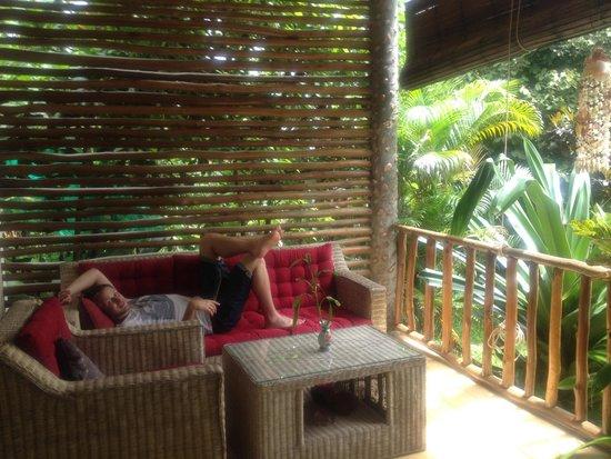 Kep Lodge : Balcon
