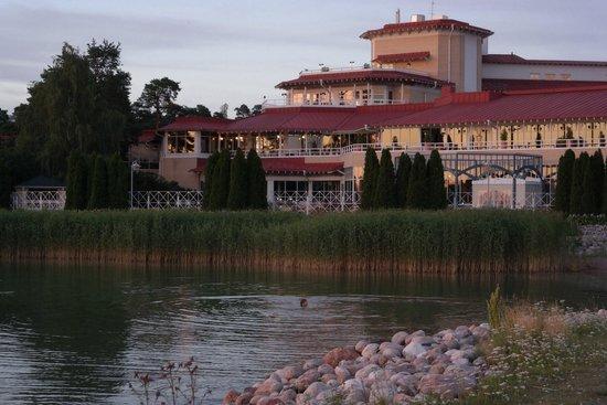 The Naantali Spa: Вид на отель