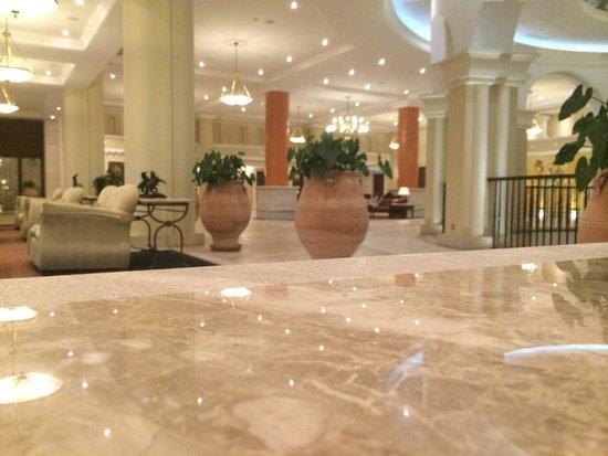 Elysium Hotel : Reception area