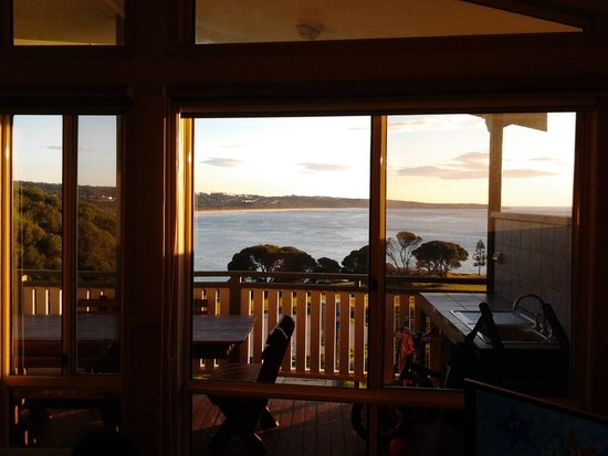 NRMA  Merimbula Beach Holiday Park: View from our Villa