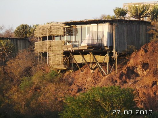 Singita Lebombo Lodge : Our lodge.