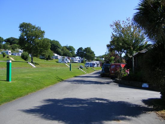 Napps Touring Holidays: caravan field