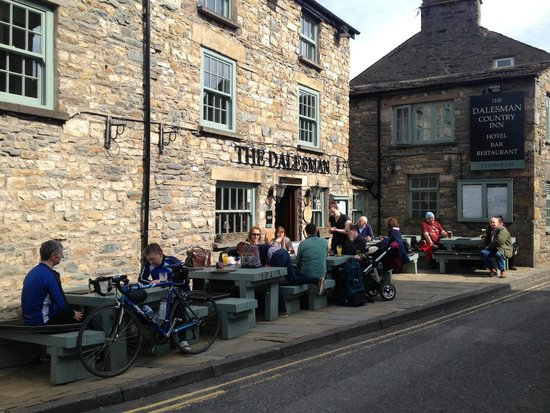The Dalesman Country Inn: outside the inn