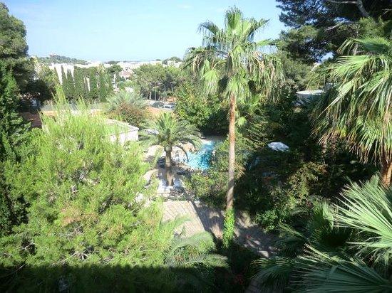 Lago Garden Hotel: Aussicht vom Balkon