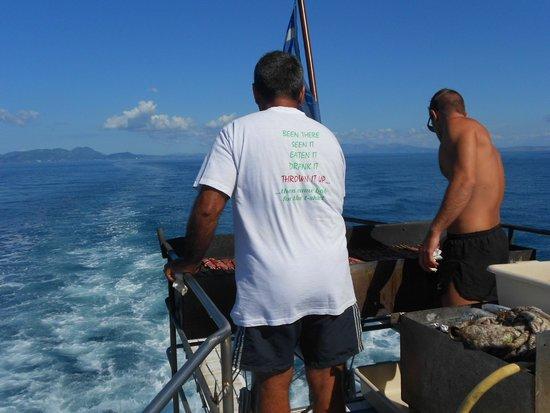 SENTIDO Apollo Palace : Blue Lagoon and BBQ on boat