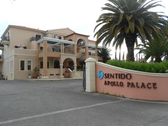 SENTIDO Apollo Palace : Entrance