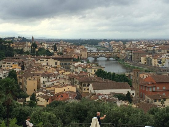 Piazzale Michelangelo: Понте Веккьо