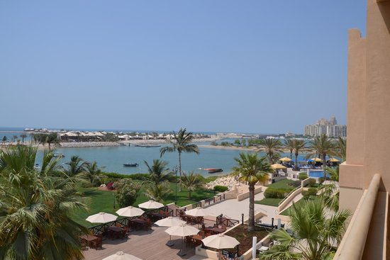 Hilton Ras Al Khaimah Resort & Spa: Vews from Waldorf Astoria