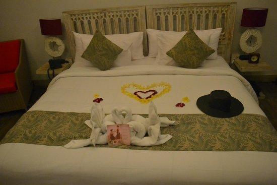 KajaNe Mua Private Villa & Mansion: bed