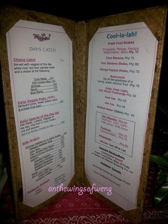 Kalui Restaurant: dining place