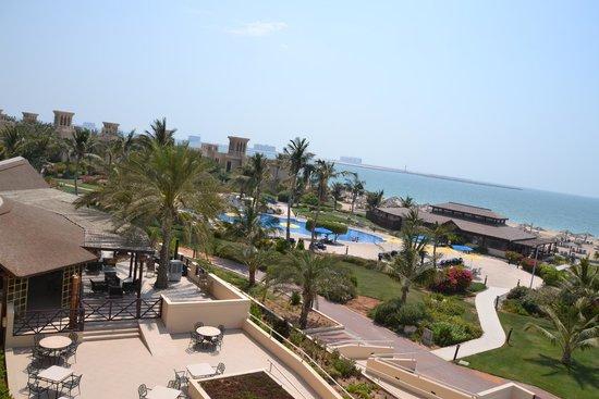 Hilton Ras Al Khaimah Resort & Spa: views from Waldorf Astoria grounds