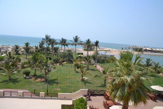 Hilton Ras Al Khaimah Resort & Spa: Views from Waldorf Astoria at Ras Al Khaima