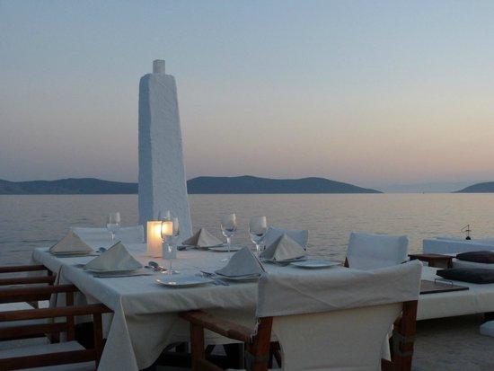 Barcelo Hydra Beach Resort : Restaurant Luxe de la plage