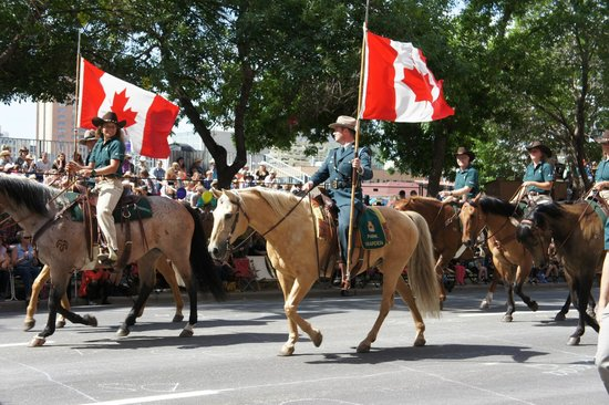 Calgary Stampede: Stampede opening day