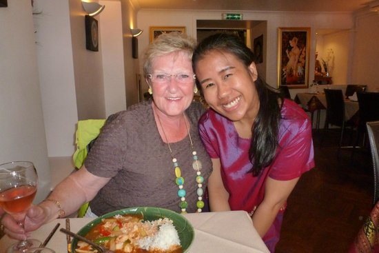 Wila Wan Thai: Warm welcome
