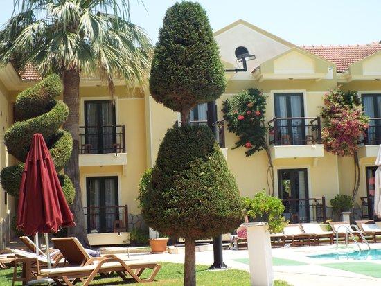 Harman Hotel : Garden topiary