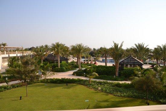 Hilton Ras Al Khaimah Resort & Spa : View from Grounds of Waldorf Astoria