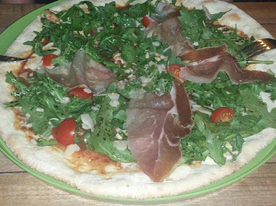 Le Temps des oliviers : La pizza Focaccia.