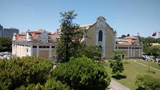 Hotel Miraparque: Vista da janela do quarto