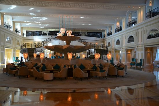 Hilton Ras Al Khaimah Resort & Spa : Foyer at Waldorf Astoria went for  dinner from Al Hamra Hilton to Lexington Grill