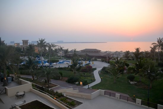 Hilton Ras Al Khaimah Resort & Spa : Views from grounds of Waldorf Astoria