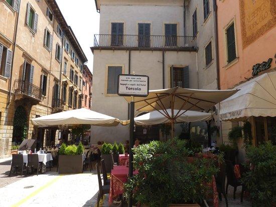 Torcolo: ホテル側の外観