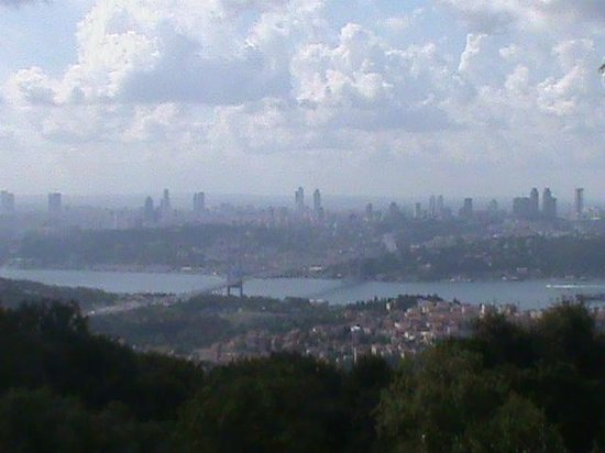 Camlica Hill: Istanbul...just a word, just 8 letters, but it is actually a whole world..